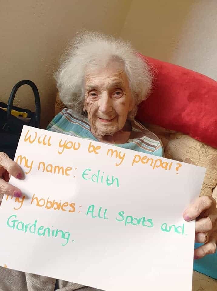 Residents of The Knights Care Home in St Annes looking for pen pals