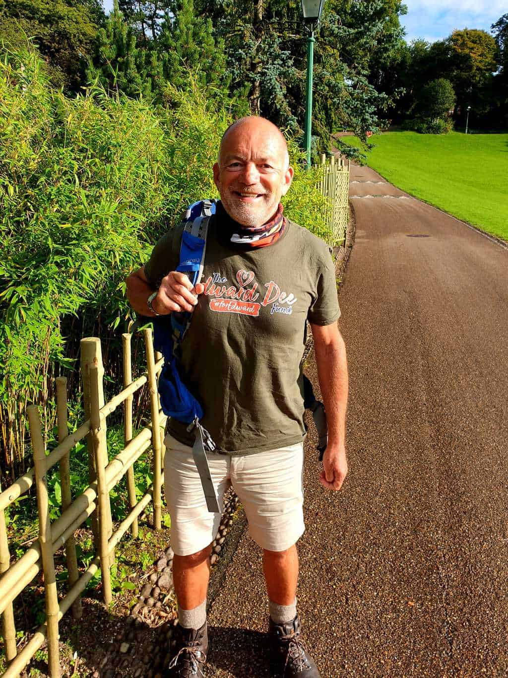 Local, Steve Garrill, walks The North West Way to raise money for The Edward Dee fund