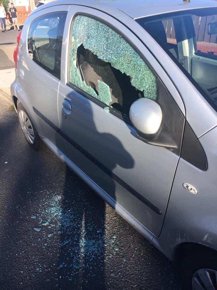 Multiple cars shot on Preston Old Road in Blackpool