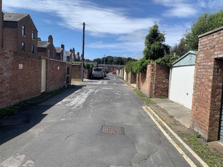 Repulsive Builders Leave Bucket of Excrement in Lytham Alleyway