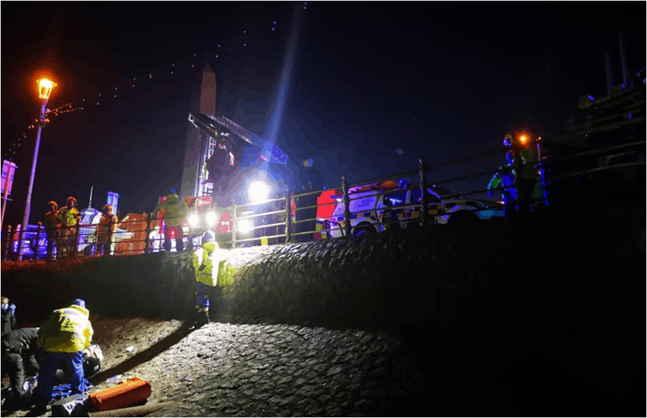 Another Busy Morning For Lytham Coastguard