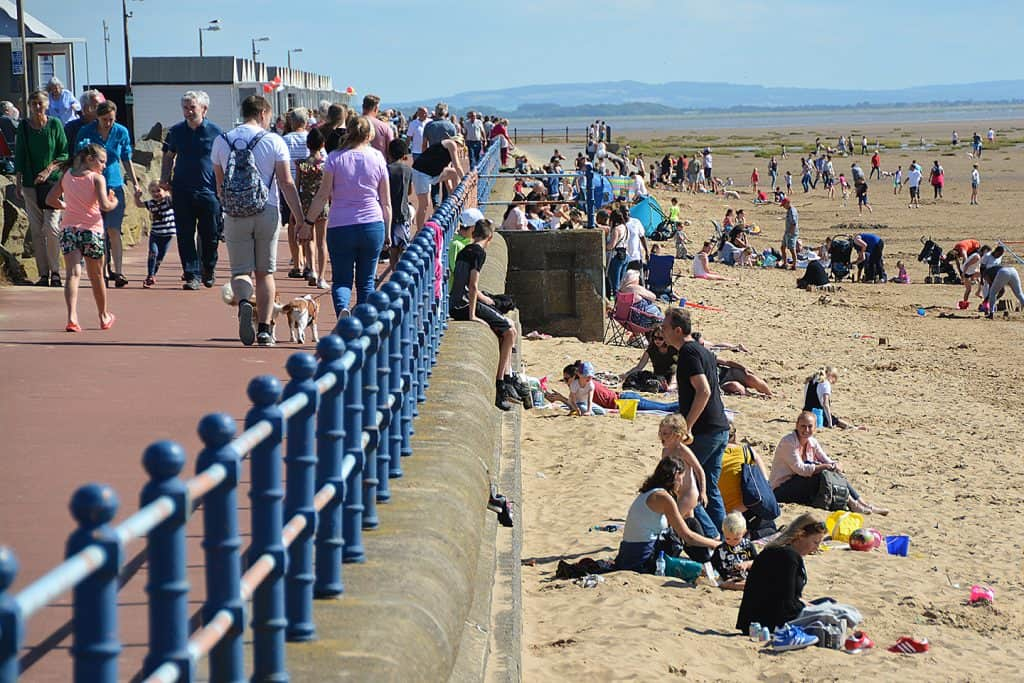 Blow Torch Heatwave to Continue For Lytham St Anne's