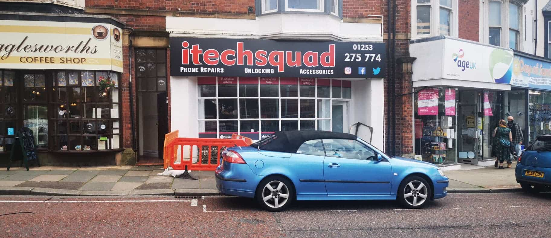 Popular mobile repair shop to open 2nd shop in St Annes next week!