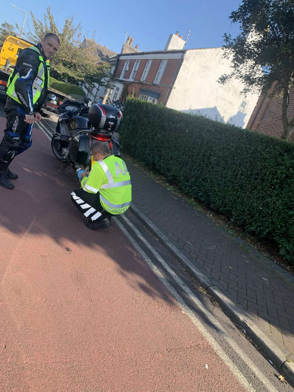 Bloody Hell! Blood Bike on Urgent Mission Struck by Audi in Lytham