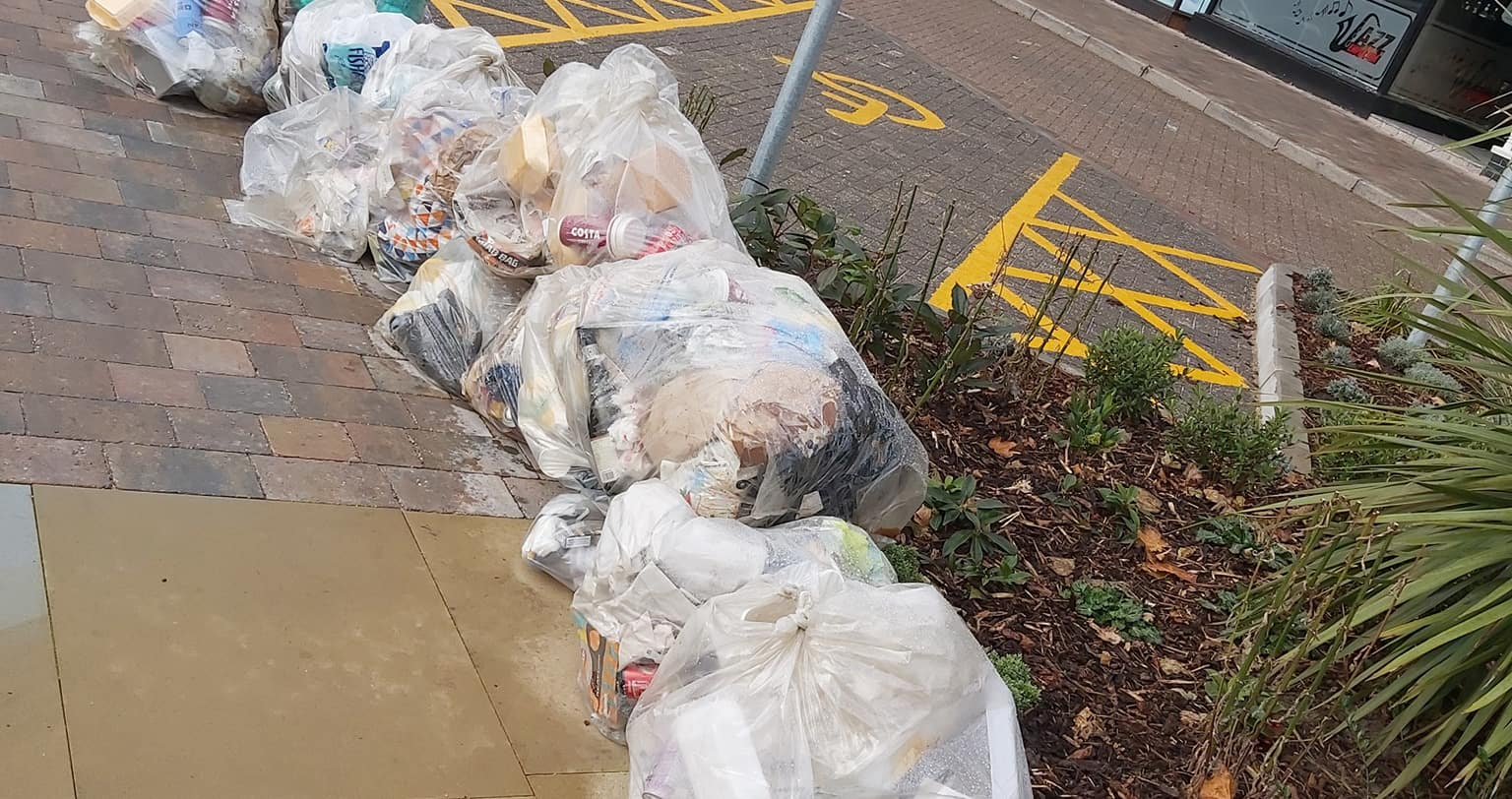 Ridiculous Rubbish Pile Up Adds to Wood Street Woes