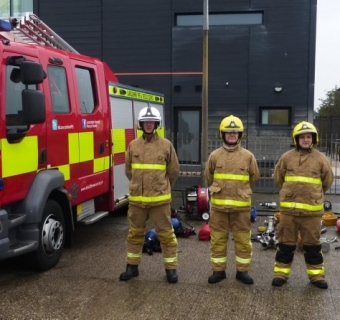 Lancashire Fire and Rescue Service are currently recruiting 16-25 year olds for the FREE 12 week Programme in January